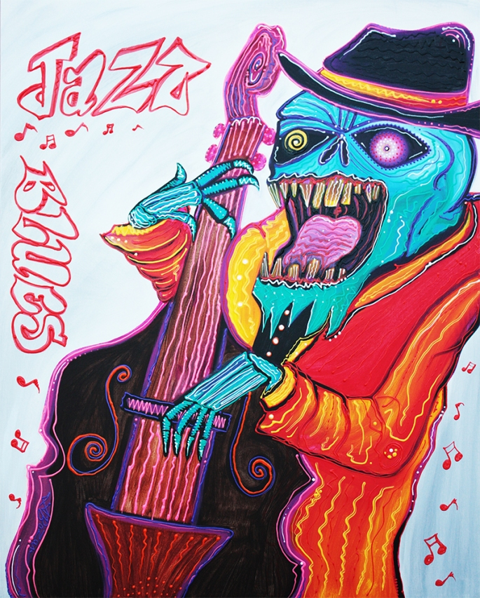 Jazz and Blues by Laura Barbosa - display