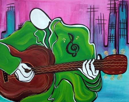 Music Man by Laura Barbosa - display
