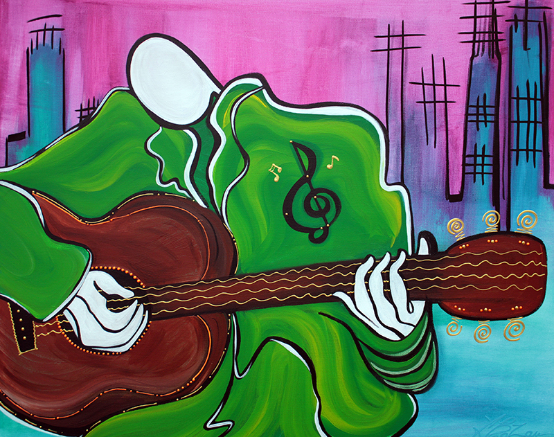 Music Man by Laura Barbosa - display