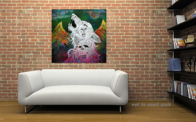Wolf Spirit Animal - Laura Barbosa Home Decor