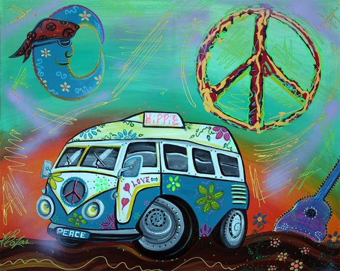 Hippie Trip by Laura Barbosa - display