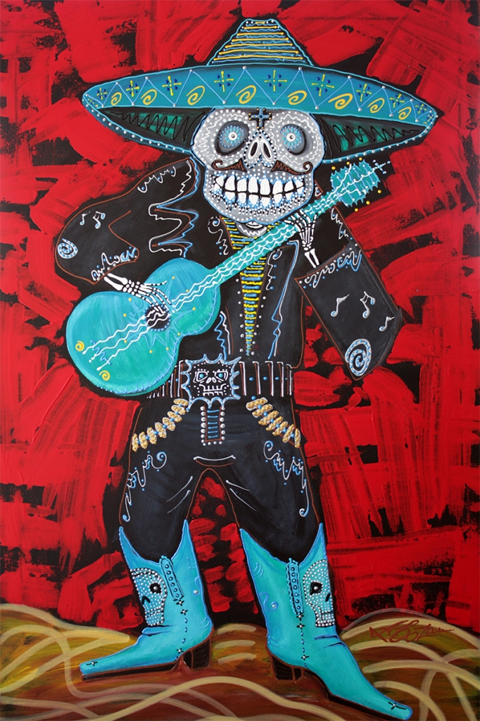 Spirit Of The Mariachi by Laura Barbosa - display