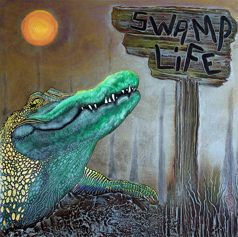 Swamp Life by Laura Barbosa - display