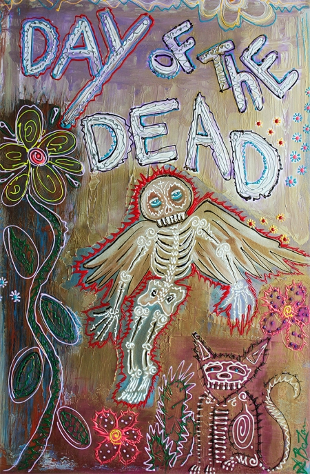 Day of the Dead Ascension by Laura Barbosa - display