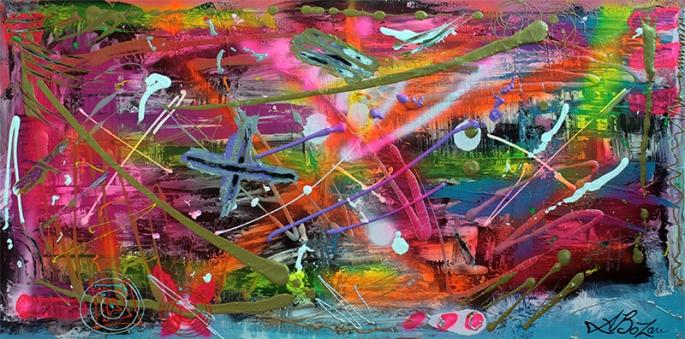 Graffiti by Laura Barbosa - display