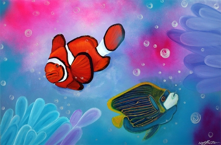 The Reef by Laura Barbosa - display