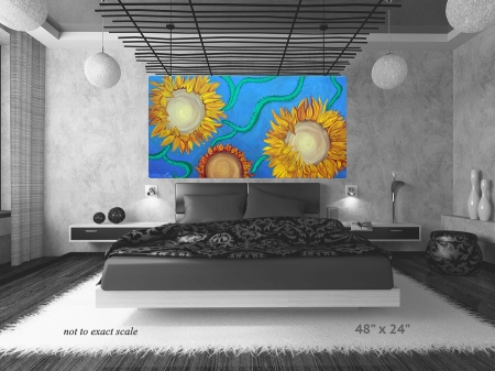 Sunflowers by Laura Barbosa - home decor