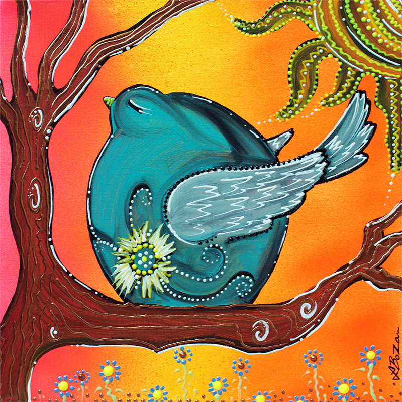 Garden Bird by Laura Barbosa - display