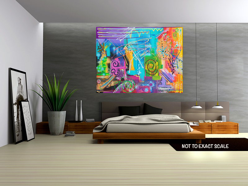 Vivid Thoughts by Laura Barbosa - home decor