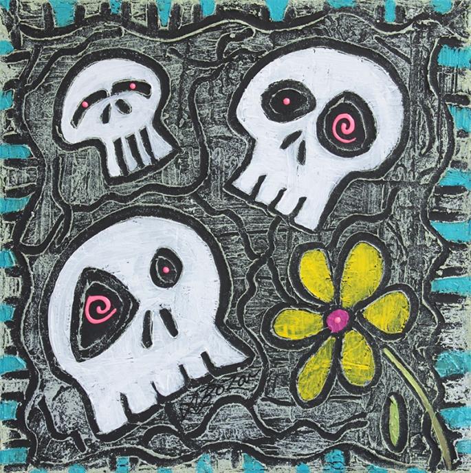 Digging for Skulls by Laura Barbosa - display