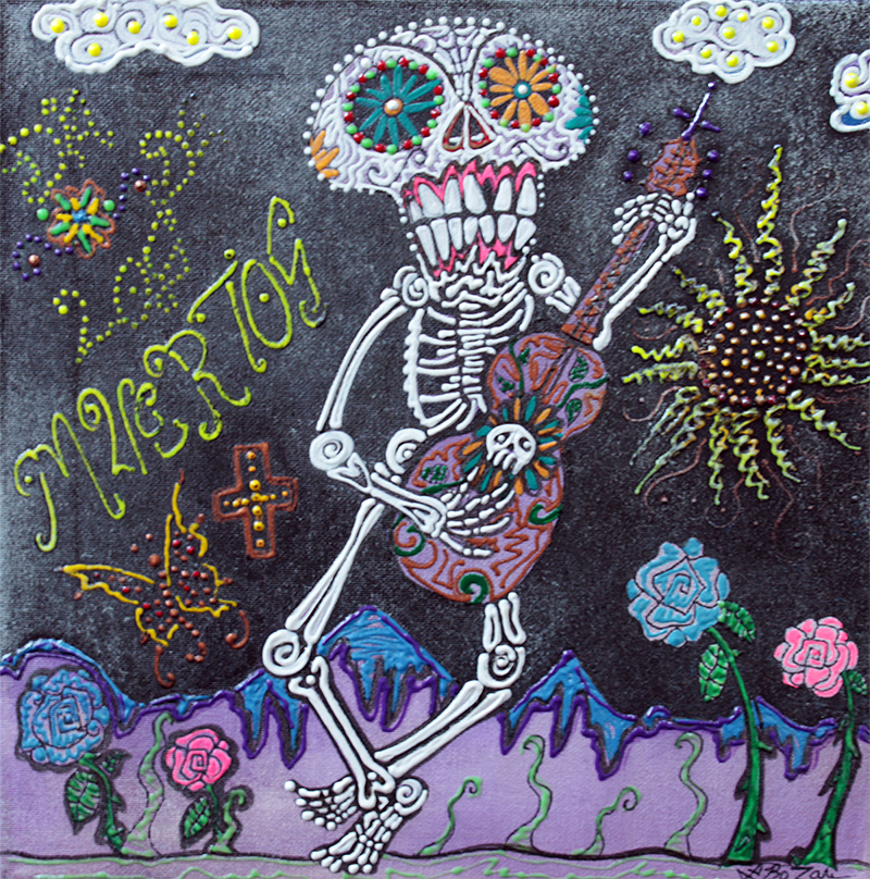 Tune Of Los Muertos by Laura Barbosa - display