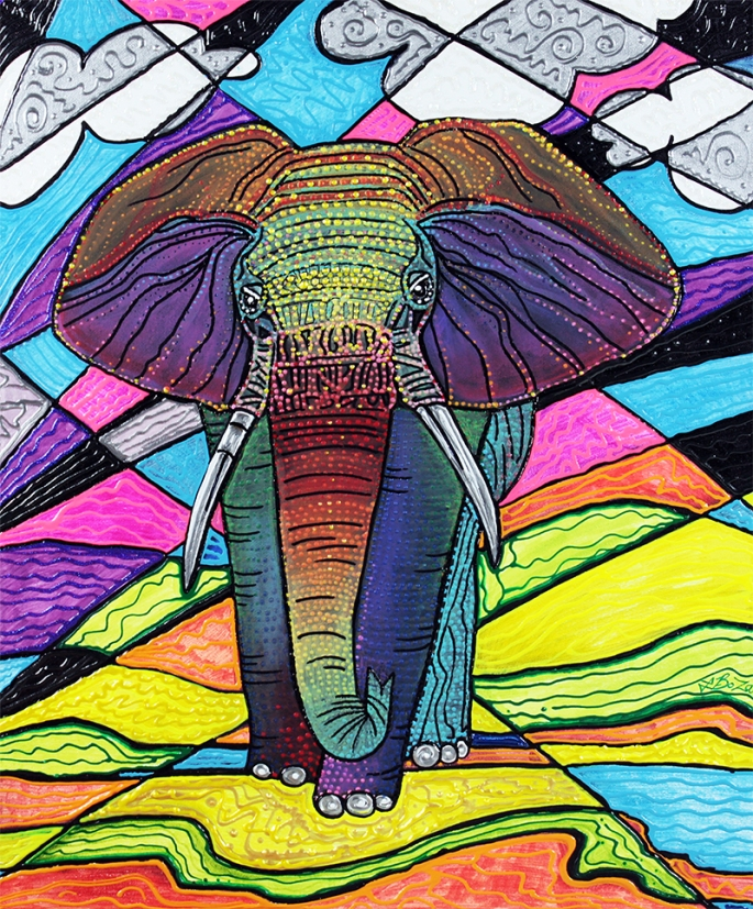 the-mighty-elephant-by-laura-barbosa-display