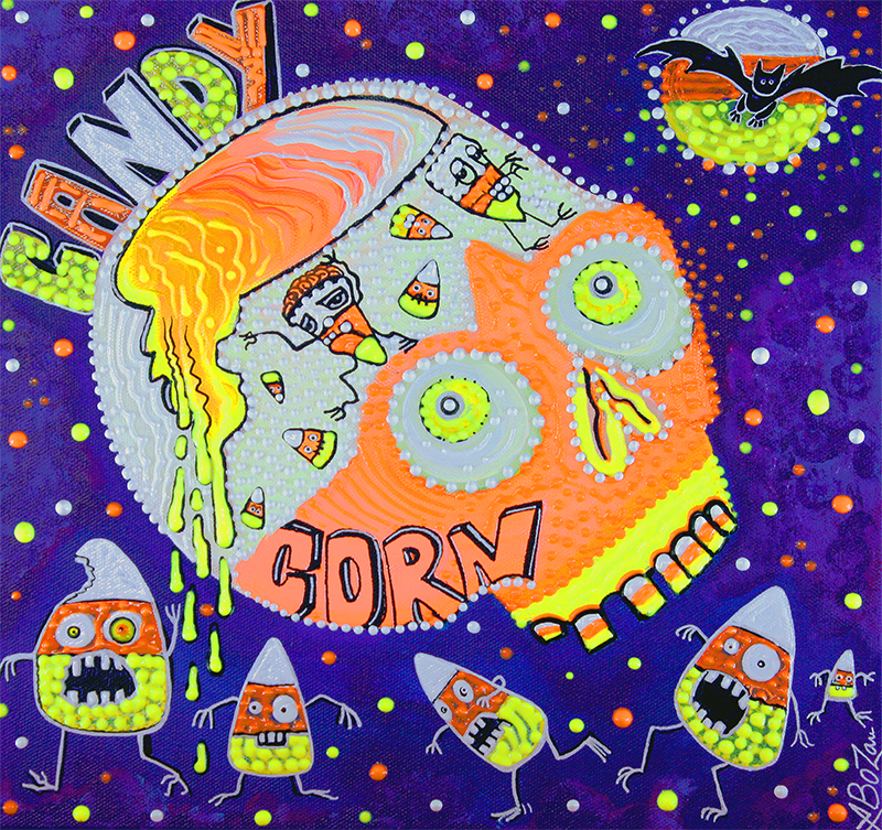 Haunted Candy Corn by Laura Barbosa - display
