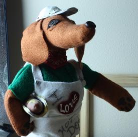 Dachshund Doll 2018 - muzzle