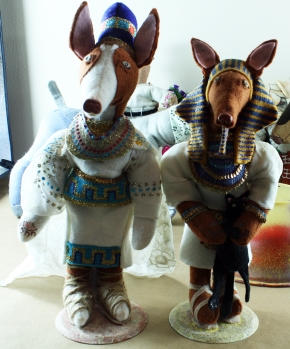King Tut and Nefertiti