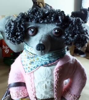 Poodle 2018 Doll - face