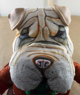 Shar Pei Doll 2018 - face